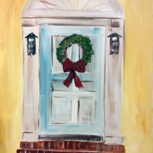 Paint & Party Holiday Door